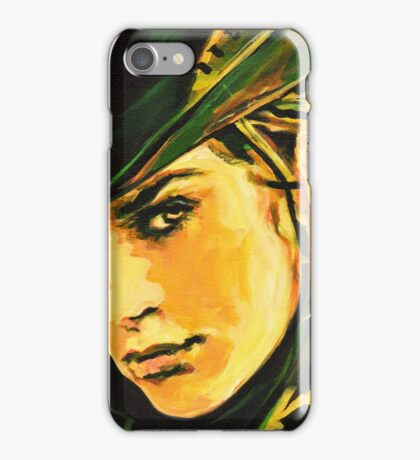 Human Face. Expression 35 iPhone Case/Skin