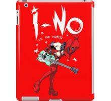 I-no vs the world iPad Case/Skin