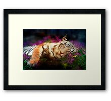 Tiger, Tiger Framed Print
