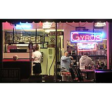 Tommy's Diner, Columbus, OH Photographic Print