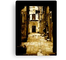 THE OTHER SIDE OF LIFE (UNDERSTANDING) Canvas Print