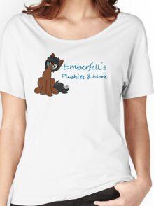 Emberfall's Plushies logo Women's Relaxed Fit T-Shirt