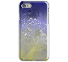 Blue and Golden Ocean iPhone Case/Skin