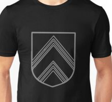 A Complete Guide to Heraldry - Figure 137 — Chevron doubly cottised Unisex T-Shirt