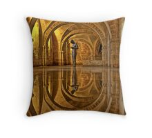 Cathedral Crypt - Winchester Throw Pillow