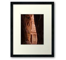 Petra at First Sight Framed Print