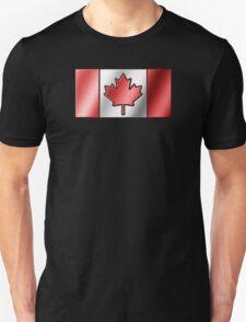 Canadian Flag 2 - Canada - Metallic T-Shirt