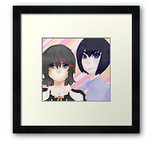 Kill la Kill: Sisters Framed Print