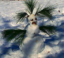 Polynesian Snowman by Lisa Taylor
