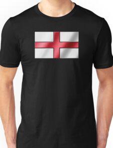 English Flag - England - Metallic Unisex T-Shirt