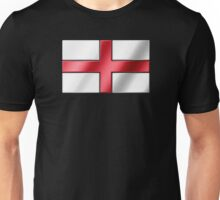 English Flag - England - Metallic Unisex T-Shirt