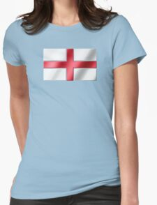 English Flag - England - Metallic Womens Fitted T-Shirt