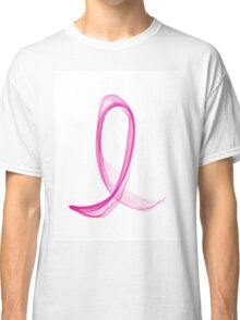 Breast Cancer Ribbon Classic T-Shirt