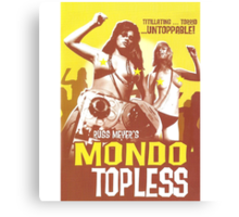 Mondo Topless Alt. Canvas Print