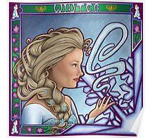 Kingdom of Ice-olation (Winter Nouveau) Poster