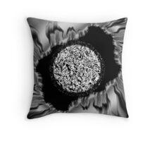 Aluminum abstract Throw Pillow