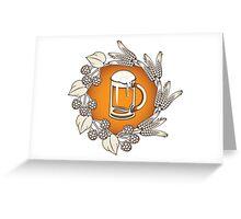 BEER! Greeting Card