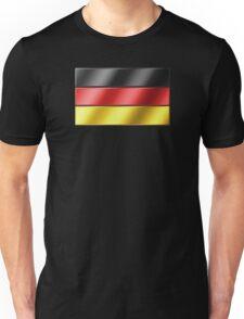 German Flag - Germany - Metallic Unisex T-Shirt