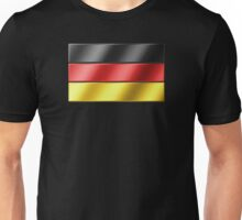 German Flag - Germany - Metallic Unisex T-Shirt