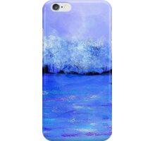 Dreamy Blue Landscape iPhone Case/Skin