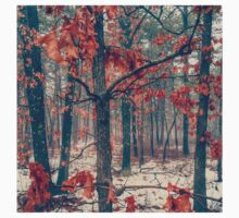 Trees losing their leaves One Piece - Long Sleeve