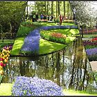 Memories of Keukenhof - Floral Collage (Landscape Format) by MidnightMelody