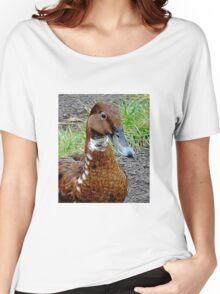 Brown Duck Women's Relaxed Fit T-Shirt