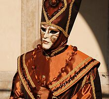 Man in Bronze Carnival Costume by jojobob