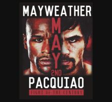 Floyd Mayweather VS Manny Pacquiao shirt, poster, and more T-Shirt
