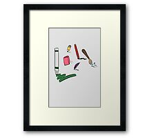 Your Drawing Tool  Framed Print