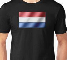 Dutch Flag - Netherlands - Metallic Unisex T-Shirt