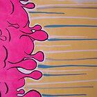 paint pours by Vanessa Potier