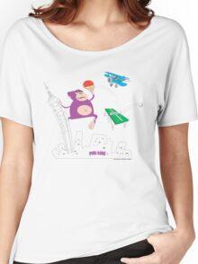 PING KONG Women's Relaxed Fit T-Shirt