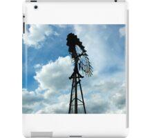 Farm wind Mill iPad Case/Skin