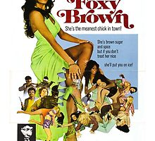Foxy Brown (Green) by PulpBoutique