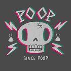 Poop Skull by Nate Bear