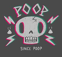 Poop Skull by Nate Bear