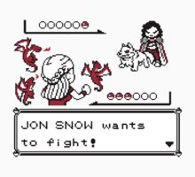 Jon Snow wants to fight... by Jaoson