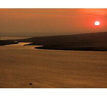 Sunset at Bastian Photographic Print