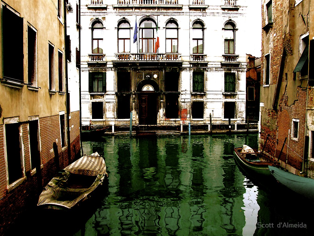 GREEN STREETS OF VENICE by Scott  d'Almeida