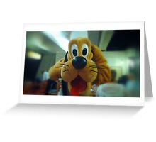 Pluto! Greeting Card