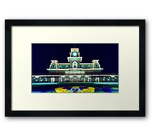 Magic Kingdom Welcome Station Framed Print