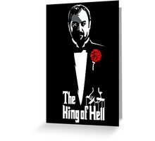 Supernatural Godfather of Hell Greeting Card