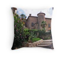 Chateau de Seix Throw Pillow