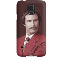 Anchorman Ron Burgundy T Shirt Samsung Galaxy Case/Skin