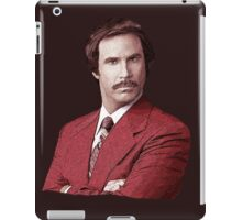 Anchorman Ron Burgundy T Shirt iPad Case/Skin