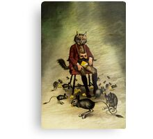 The intriguer Metal Print