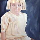 3 year old child 1910 by Rachelle Dyer