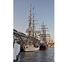 Tall Ships @ Darling Harbour, Sydney, Australia 2013. Photographic Print