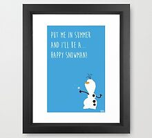 Summer - Frozen Movie Quote by Patricia Kimmerle
